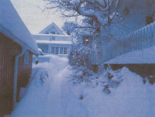 Stemningsbilde fra vinteren 2006.