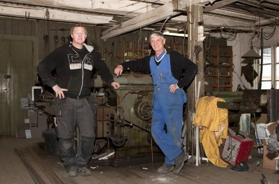 Drøbak Mekaniske Verksted 2009. Øyvind S. Melvold og Svend Thorbjørnsen