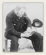 Hans Henry Parr. Foto: Universitetsbiblioteket i Oslo. Billedsamlingen