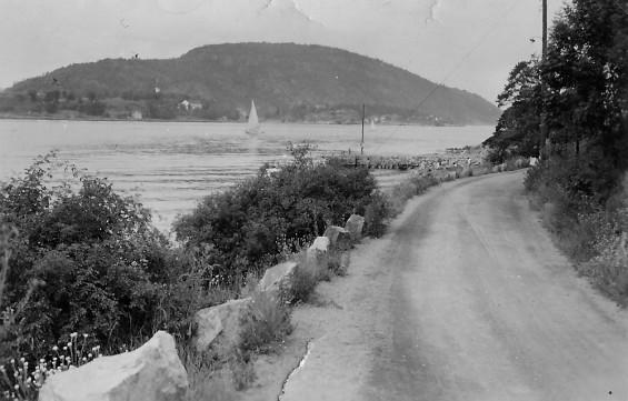 Nordstranda og Oscarsborg 1957