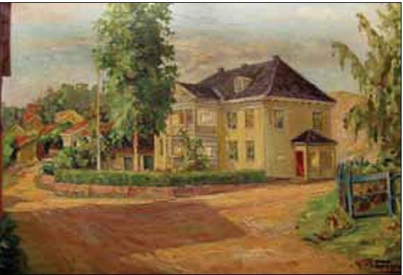 Hovedbygningen i A. G. Johansens bedrift.