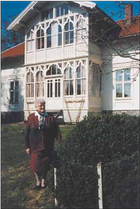 Tranga 8, Olga Ambjørnruds vakre hjem, sett fra syd.