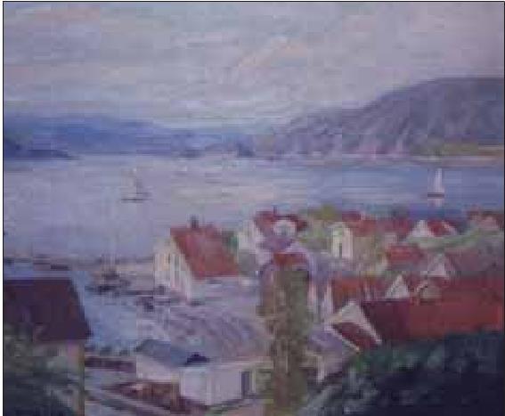 Utsikt fra Bråtan
