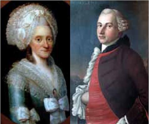 Martha Zachariasdatter Carlsen og Niels Carlsen. Foto: Sven Lindblad